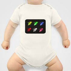 Neon insects Onesie by LoRo  Art & Pictures - $20.00