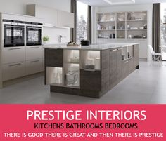 Come and check out our fantastic range of new showroom kitchens at our newly refurbished showroom in Eastbourne, Lottbridge Drove , BN23 6NT or book a free home measure and design online at www.prestigeinteriors.uk.com
