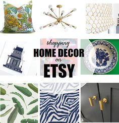 10 Etsy Home Decor Stores To Bookmark