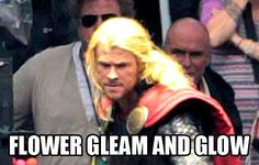 Hahaha!  Thor and Rapunzel crossover! XD