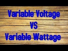 ▶ Explaining Variable Voltage vs Variable Wattage ~ Contest Drawing - YouTube