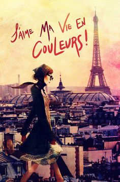 Parisian Walk Canvas Giclee Print