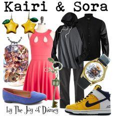 """Kairy & Sora (Kingdom Hearts 2)"" by thejoyofdisney on Polyvore"