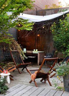 Equipement d 39 une terrasse uz s d cor e par esprit d 39 uz s for Terrasse exotique et depaysante