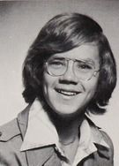 """Tim Robbins - in his 1976 """"Indicator"""" yearbook at Stuyvesant High School in New York, NY."""