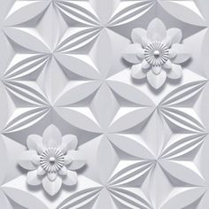 Marcel Wanders Grey Wall Flower Wallpaper- at Debenhams.com
