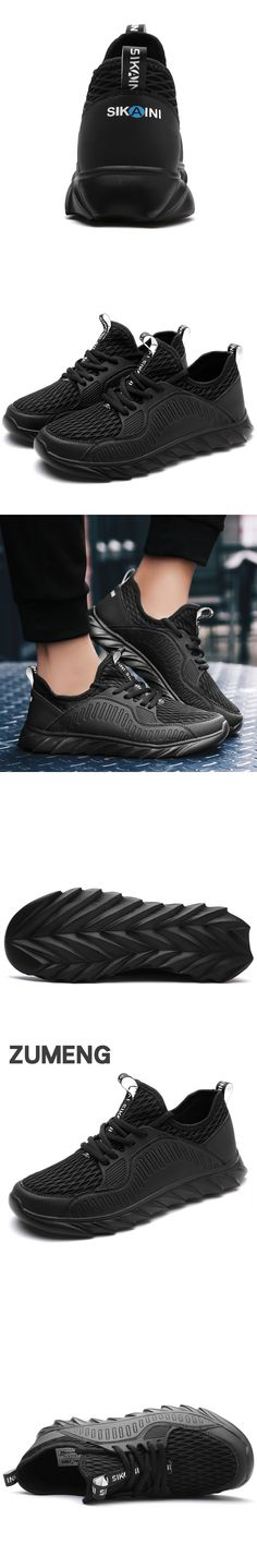 2017 new mens summer air mesh breathable casual trainers lighted shoes for adults fashion man's off black tubular zapatos hombre