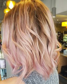 My hair is a balayage blush. Done at Natural Alternatives Knoxville TN #balayage…                                                                                                                                                                                 More