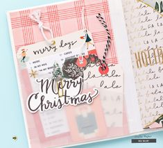Its Bea here today sharing my first project with the gorgeous Merry Days collection. December is the most wonderful time of the year, and I love to document those cozy days in a mini album. Since December is. Mini Scrapbook Albums, Scrapbook Paper, Mini Albums, Scrapbooking, Scrapbook Journal, Scrapbook Layouts, Christmas Albums, Christmas Books, Book Crafts