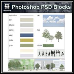 "Photoshop furniture ""PSD"" file can be used in architectural plans rendering, interior design and landscape design. The ""PSD"" file format is multi-layered and can be used easily. Note: ""PSD"" file resolution is higher than pictures Famous Architecture, Architecture Plan, Architecture Details, Landscape Architecture, Paving Design, Facade Design, Photoshop Images, Photoshop Design, Neoclassical Interior"
