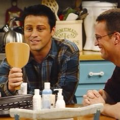 Joey and Chandler Funny Friends tv show