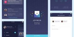 Joybox: Mobile Email App Sketch UI Kit - ByPeople