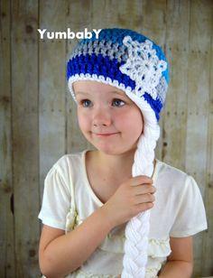 Elsa Hat  Halloween Costume  Queen Elsa Inpired Hat by YumbabY