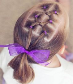 wedding hairstyles easy hairstyles hairstyles for school hairstyles diy hairstyles for round faces p Easy Toddler Hairstyles, Cute Little Girl Hairstyles, Teenage Hairstyles, Cute Girls Hairstyles, Braided Hairstyles, Hairstyles 2016, Toddler Hair Dos, Funky Hairstyles, Kids Hairstyle