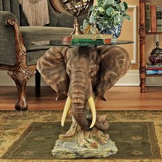 Shop a great selection of Design Toscano Lord Earl Houghton's Trophy Elephant Glass-Topped Table. Find new offer and Similar products for Design Toscano Lord Earl Houghton's Trophy Elephant Glass-Topped Table.