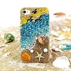 Crystal Glitter iPhone 5/4S/4 Case - Girls Ombre Glitter iPhone 5 Case