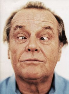 jack nicholson, you are perfect Jack Nicholson, Silly Faces, Funny Faces, Hollywood Actor, Hollywood Stars, Hollywood Actresses, Photo Portrait, Portrait Photography, Celebrity Photography