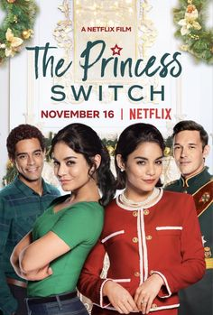 Trailer, featurette, images and poster for the Christmas romantic comedy THE PRINCESS SWITCH starring Vanessa Hudgens. Netflix Movies For Kids, Best Kid Movies, Funny Movies, Good Movies, Romantic Comedy Movies, Romance Movies, Family Movie Night, Family Movies, Kids Christmas Movies