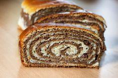 Traditional Slovenian food: walnut potica