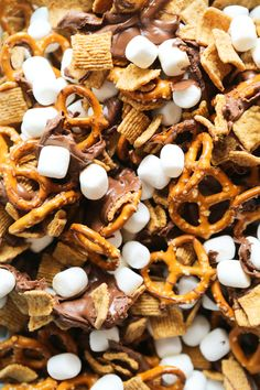 S'mores Snack Mix — Pip and Ebby