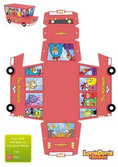 Bilderesultat for cut and paste paper toy 3d Paper Crafts, Paper Toys, Paper Art, Diy And Crafts, Crafts For Kids, 3d Cuts, Lottie Dottie, Packaging Box, Paper Box Template