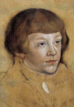 Lucas Cranach (1472-1553) - study of a boy
