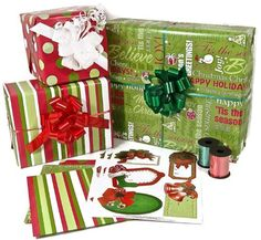 Christmas Gift Wrap Ribbon and Gift Tags Kit -- Find out more about the great product at the image link.