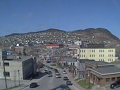 Corner Brook, Newfoundland and Labrador, Canada - grew up here and visit most every year. Wonderful Places, Beautiful Places, Canada Eh, Portuguese Food, Newfoundland And Labrador, The Province, Amazing Pics, Canada Travel, Main Street