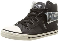 Mustang 1146-501-5 Damen Hohe Sneakers - http://on-line-kaufen.de/mustang/mustang-1146-501-5-damen-hohe-sneakers