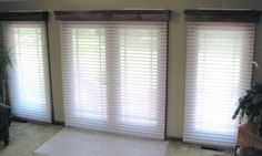 window blinds ideas   Window Treatments for French Doors Ideas