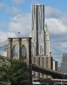 Frank Gehry's new tower.