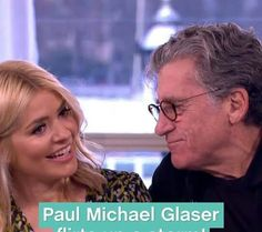 2017 UK interview with Holly Willoughby Tv Shows 2017, Paul Michael Glaser, David Soul, Starsky & Hutch, Holly Willoughby, American Actors, Liverpool, Interview, Novels