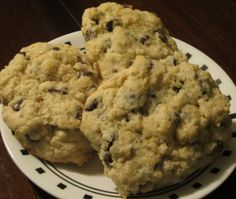 Chocolate Chip Scones | A Taste of Meghan's Kitchen Just Desserts, Scones, Cooking Recipes, Sweets, Cookies, Chocolate, Baking, Breakfast, Food
