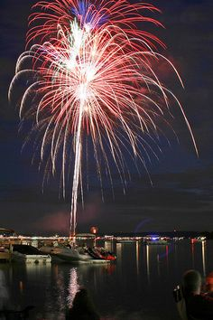 Fourth of July fireworks, Pewaukee lakefront, 2009 4th Of July Fireworks, Fourth Of July, What Is Like, Diwali, Us Travel, Wisconsin, Places Ive Been, Beautiful Places, New Homes