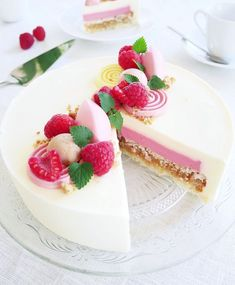 Unique Desserts, Fancy Desserts, Baking Recipes, Dessert Recipes, Sweet Pastries, Piece Of Cakes, Cookie Decorating, Sweet Recipes, Cheesecake
