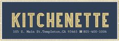 Kitchenette-breakfast and lunch on main St in Templeton