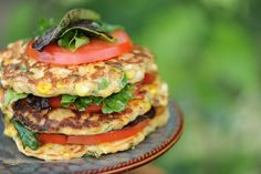 Grilled Corn Fritters by Fab Frugal Food, via Flickr