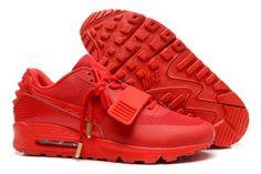 Economiche nike uomo air max 90 yeezy 2 scarpe da corsa rosse outlet online italia