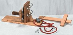 Rope Making Machine with Tool and Pulley