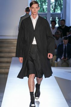 Jil Sander Spring 2014 Menswear Collection Slideshow on Style.com