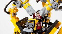 Lego IRON MAN gantrymachine --> CUUSOO