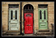3 Doors Huddersfield by Dervish Images Shut The Door, Antique Hardware, Doorway, Door Knobs, Windows And Doors, Entrance, Architecture Design, Stairs, Around The Worlds