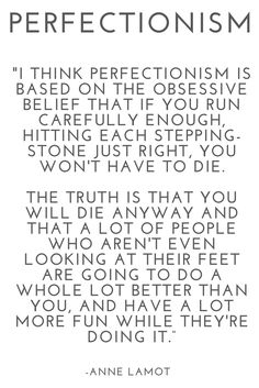 How To Overcome Perfectionism & Self Hate