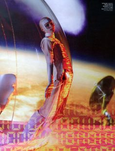 Lost in Cyberspace Ph: Steven Meisel Styling: Marie Amelie Sauve Model: Julia Nobis