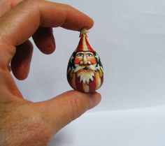 Santa Claus Miniature Folk Art