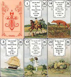 Die Rote Eule - Lenormandkarten