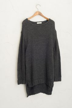 Olive - Loose Neck Knit Jumper, Charcoal, £45.00 (http://www.oliveclothing.com/p-oliveunique-20150916-069-charcoal-loose-neck-knit-jumper-charcoal)