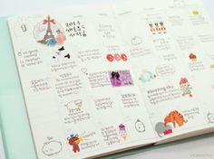 #planner  #stickers  #cute  #korean stationery