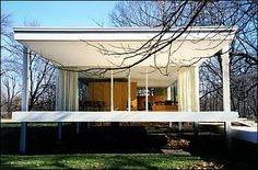 If It's Hip, It's Here: The New LEGO Farnsworth House & A Look At The Original by Mies van der Rohe.