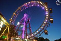 Riesenrad Prater Vienna, Ferris Wheel, Austria, Fair Grounds, Hacks, Travel, Design, Pictures, Student Home